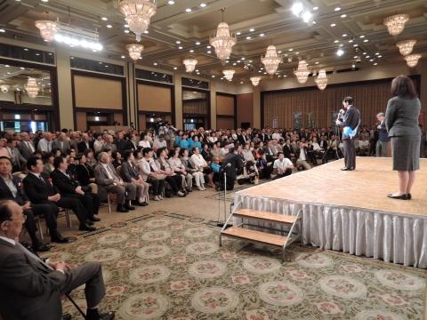 平成28年6月22日参議院議員候補「岡田 宏」出陣式②