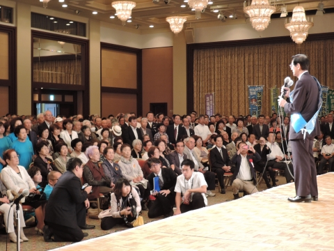 平成28年6月22日参議院議員候補「岡田 宏」出陣式③