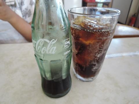 久々に瓶の「コカコーラ」を飲んだら美味かった!③