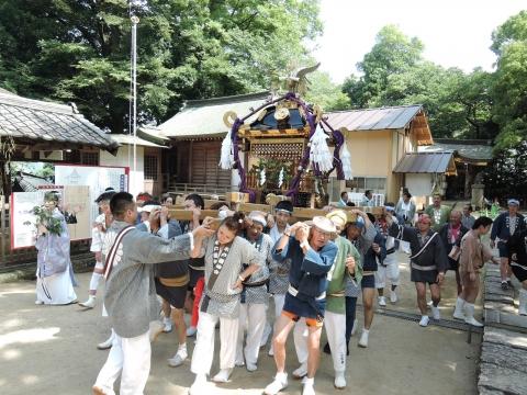 平成28年7月3日八坂神社神輿渡御⑨