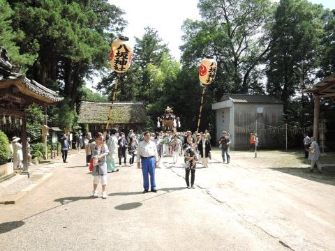 平成28年7月3日八坂神社神輿渡御⑩