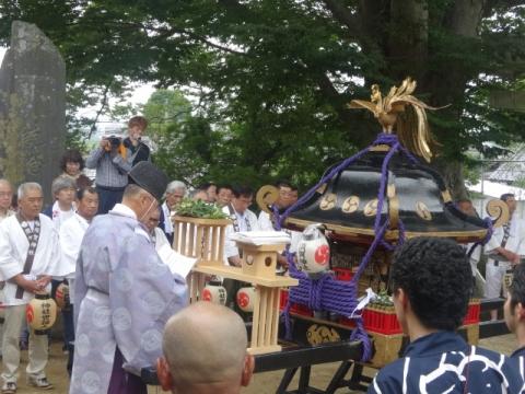 三村「須賀神社祇園祭」②