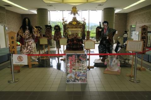 柿岡八坂神社祇園祭「神輿」&「人形」&「獅子頭」①
