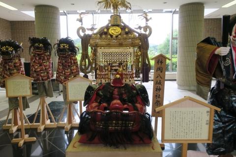 柿岡八坂神社祇園祭「神輿」&「人形」&「獅子頭」②