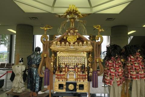 柿岡八坂神社祇園祭「神輿」&「人形」&「獅子頭」⑨
