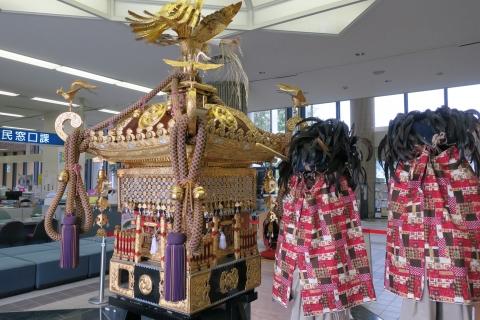 柿岡八坂神社祇園祭「神輿」&「人形」&「獅子頭」⑩