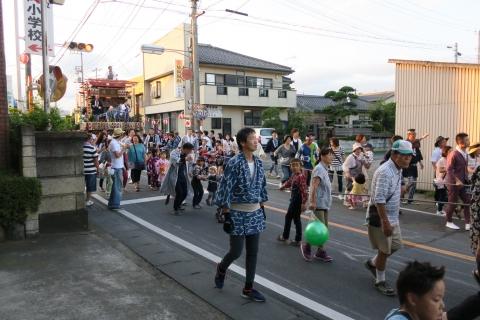 平成27年7月24日八坂神社祇園祭「柿岡のおまつりり」①