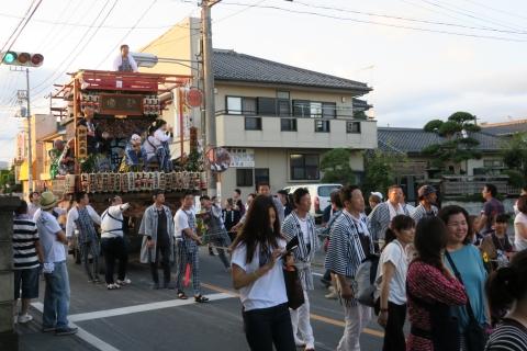 平成27年7月24日八坂神社祇園祭「柿岡のおまつりり」②