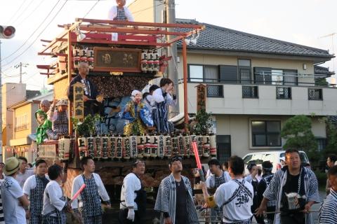 平成27年7月24日八坂神社祇園祭「柿岡のおまつりり」③