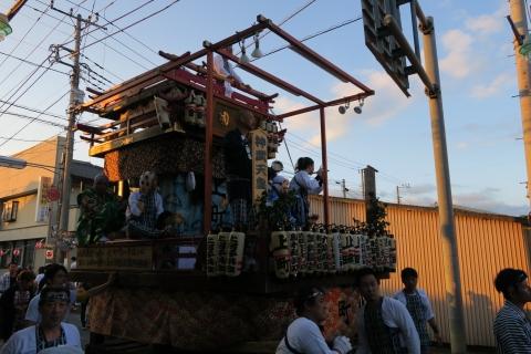 平成27年7月24日八坂神社祇園祭「柿岡のおまつりり」④