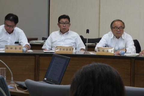 平成28年8月1日保健福祉委員会参考人聴取④