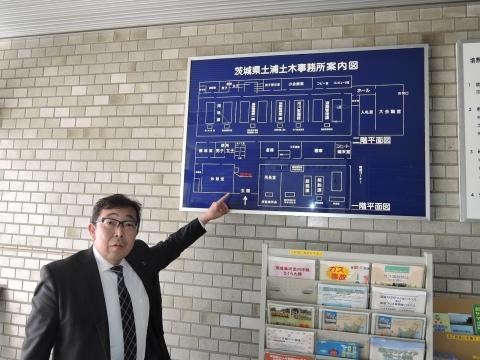 県道42号笠間つくば線交差点ライン要望 (9)
