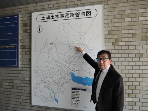 県道42号笠間つくば線交差点ライン要望 (8)