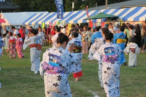 平成28年8月6日「第40回石岡市民盆踊り大会」①