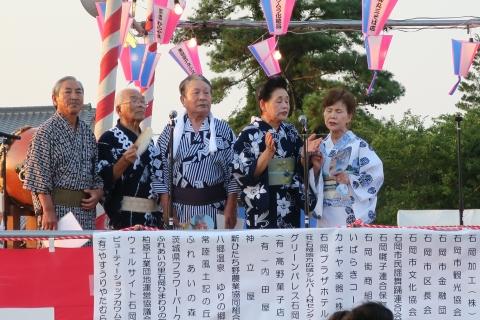 平成28年8月6日「第40回石岡市民盆踊り大会」②