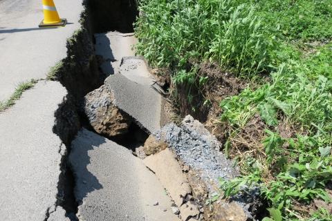 台風7号被害。東大橋(焼鳥たまり前)⑤