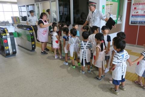 JR石岡駅発車ベル変更記念②