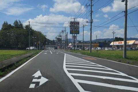 「危険極まりない交差点!」八郷支所西側がよくなりました! (2)