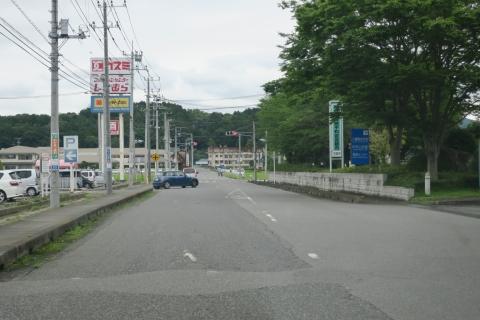 「危険極まりない交差点!」八郷支所西側がよくなりました! (3)