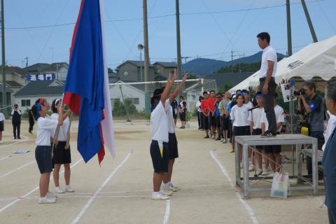 石岡市内中学校体育祭②