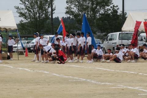 石岡市内中学校体育祭④ (2)