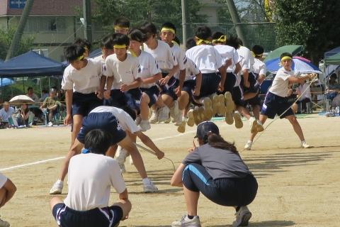 石岡市内中学校体育祭④ (5)