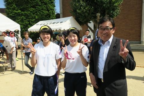石岡市内中学校体育祭④ (6)