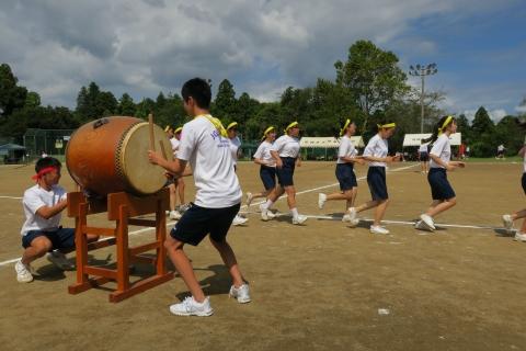 石岡市内中学校体育祭④ (8)