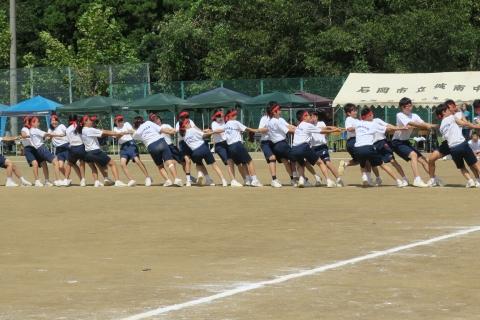 石岡市内中学校体育祭④ (10)