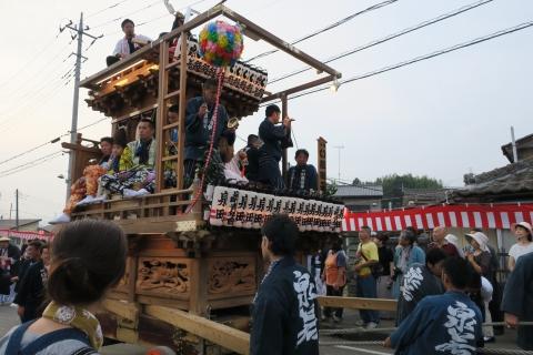 「神幸祭」おかりや参り⑭泉町