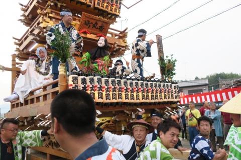 「神幸祭」おかりや参り⑱香丸町