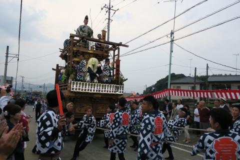 「神幸祭」おかりや参り㉞富田町