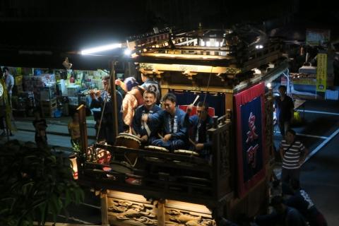 常陸國總社宮例大祭「神幸祭」夕闇の祭②