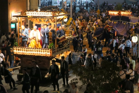 常陸國總社宮例大祭「神幸祭」夕闇の祭①