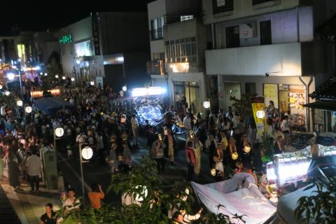 常陸國總社宮例大祭「神幸祭」夕闇の祭⑤