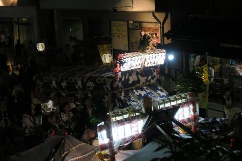 常陸國總社宮例大祭「神幸祭」夕闇の祭⑥