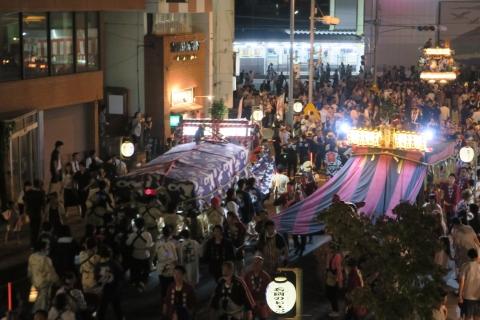 常陸國總社宮例大祭「神幸祭」夕闇の祭⑦