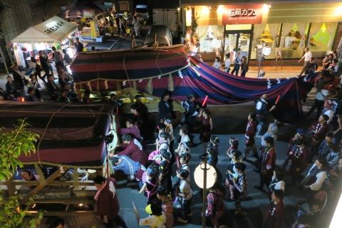 常陸國總社宮例大祭「神幸祭」夕闇の祭⑧