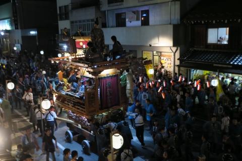 常陸國總社宮例大祭「神幸祭」夕闇の祭⑩