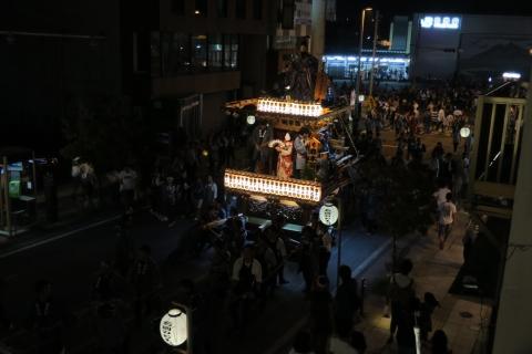 常陸國總社宮例大祭「神幸祭」夕闇の祭⑨