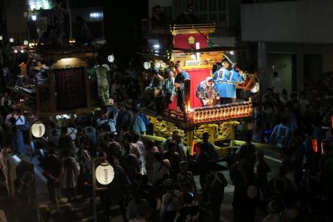 常陸國總社宮例大祭「神幸祭」夕闇の祭⑪