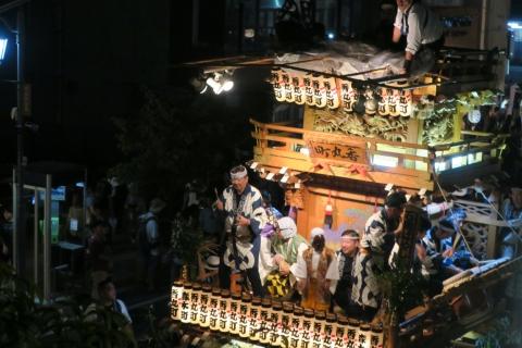 常陸國總社宮例大祭「神幸祭」夕闇の祭⑫