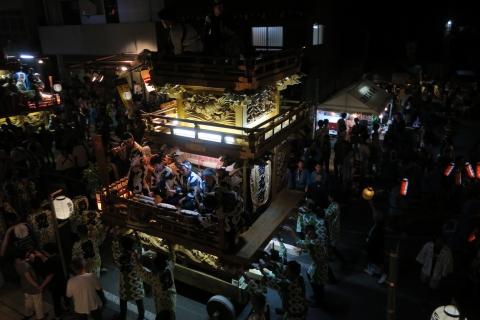 常陸國總社宮例大祭「神幸祭」夕闇の祭⑬