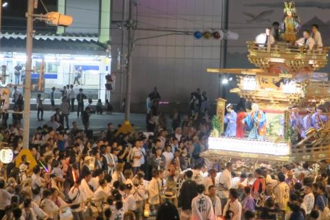常陸國總社宮例大祭「神幸祭」夕闇の祭⑭