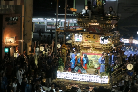 常陸國總社宮例大祭「神幸祭」夕闇の祭⑮