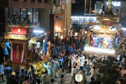 常陸國總社宮例大祭「神幸祭」夕闇の祭⑯