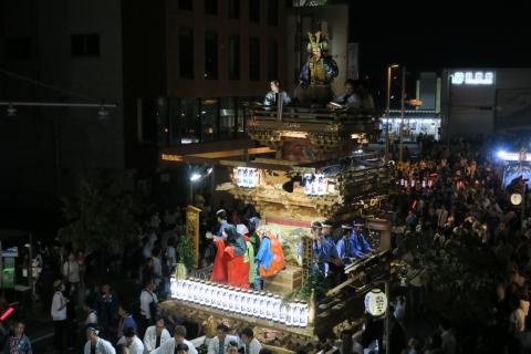 常陸國總社宮例大祭「神幸祭」夕闇の祭⑰