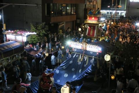 常陸國總社宮例大祭「神幸祭」夕闇の祭⑲