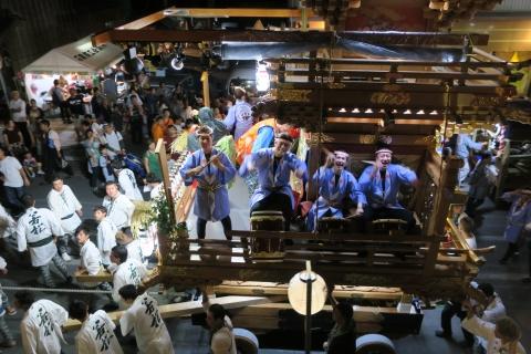 常陸國總社宮例大祭「神幸祭」夕闇の祭⑱