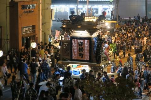常陸國總社宮例大祭「神幸祭」夕闇の祭㉑